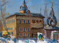 картина «гостиница Империал Барнаул» - собственность частной коллекции.