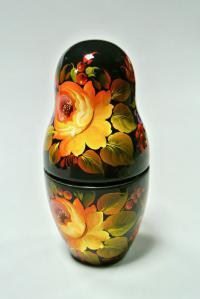 графин фарфоровый Матрёшка, Русский стиль.