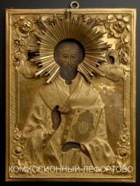 икона «Николай Чудотворец», до 1917 года.