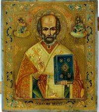 икона «Николай Чудотворец», начало XX вв.