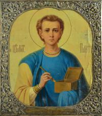 икона «Пантелеймона целителя», начало XX вв.
