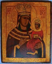 икона Богородица, начало XX века.