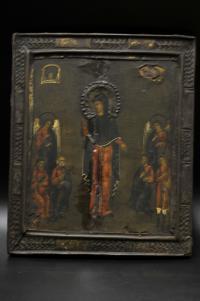 икона икона Божией Матери Всех Скорбящих Радость начало XX века