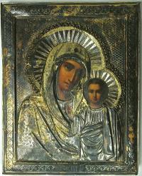 икона Казанская Преподобная