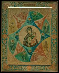 икона неопалимая купина, Российская империя, начало XX века