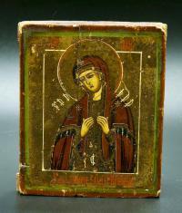 Икона Умиление Злых Сердец, начало 20 века.