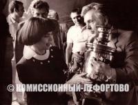 Илья Глазунов и Мирей Матьё 1986 год.