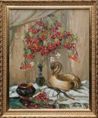 картина «Калина красная» - собственность магазина комиссионный лефортово