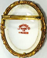 камея LIMOGES FRANCE, период около 1920 года.