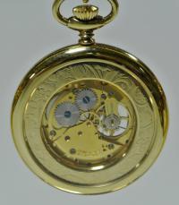 Карманные часы с открытым ходом Colibri Swiss made.