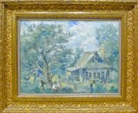 картина «На даче», 1993 год.