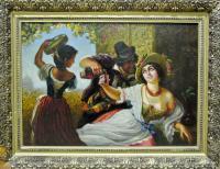 картина «Октябрьские праздники в Риме»