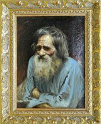 картина «Портрет Мины Моисеева» 2005 год, художник Сальникова Е.