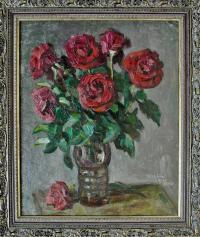 картина Розы, художник Хайрулинов И. С. 2002 год.