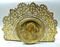хоругвь Богоявление, Казанская БМ период до 1917 года