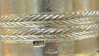 хрустальный графин с декором из серебра, период ссср 2 - я половина XX века
