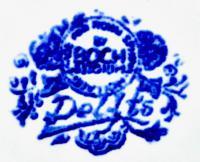 клеймо Делфтский королевский фарфор, 20 век.