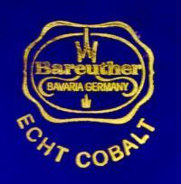 клеймо фарфоровая мануфактура «Bareuther» Бавария, Германия 20 век.