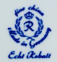 клеймо фарфоровая мануфактура «Reichenbach» Тюрингия, Германи 20 век.