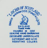 клеймо фарфоровая мануфактура «Wedgwood» Англия, 20 век.