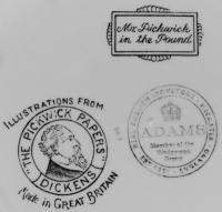 клеймо фарфорового завода «Adams», Англия 20 век.