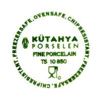 клеймо фарфоровой фабрики Кутахя, Kütahya porselen, Турция 21 век.