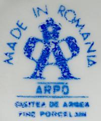 клеймо фарфоровый завод «Arpo» Румыния, 20 век.
