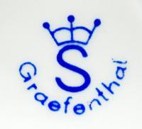 клеймо фарфоровый завод «Grafenthal» Тюрингия, Гемания 20 век.