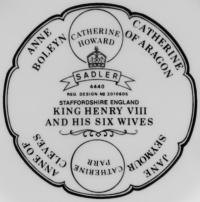 клеймо фарфоровый завод «James Sadler» Англия, 20 век,