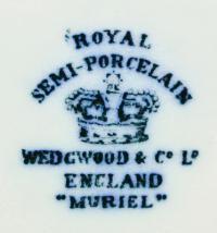 клеймо фарфоровый завод wedgwood, англия начало 20 века.