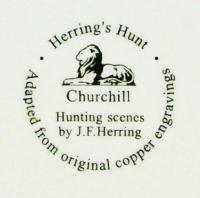 клеймо компании английской керамики «Churchill» 20 век.
