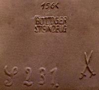 клеймо мануфактуры «Бёттгеровский фарфор» г. Майссен в Саксонии, Германия 20 век.