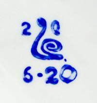 клеймо зхк «Полонне», Полонский завод художественной керамики 20 век.