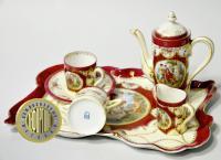 кофейный сервиз эгоист, Германия Thuringia Suhl конец XIX века, 1891 - 1896 гг