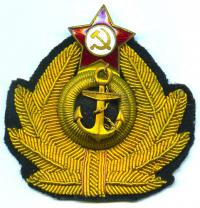 кокарда морская, 1950 гг