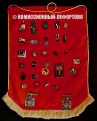 коллекция значков, период ссср 1950-1970 гг.