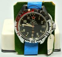 Командирские наручные механические часы. Заказ МО СССР 1989 год.