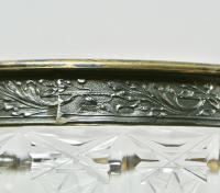 конфетница хрусталь снежинка, период ссср 1970 гг.