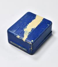 Коробка от карманных часов, ювелир Иосиф Маршак. Императорская Россия до 1917 года.