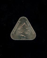 кука острова 2 доллара 2003 год