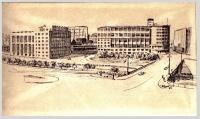 Лефортово. Разумовская набережная 1964 год.