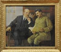 литография Ленин-Сталин, период ссср 1950 гг