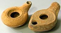 масляные лампы  палестина II - IV  век нашей эры.