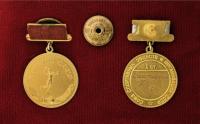 медаль чемпион  ссср 1 степень 1958 год, союз спортивных обществ и организаций ссср
