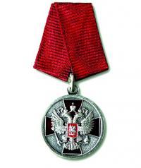 Медаль ордена За заслуги перед Отечеством II степени без мечей.