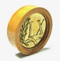 медаль юбиляру 60 лет мужчине, женщине.