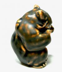 Медведь жанровая анималистическая статуэтка, Royal Copenhagen 1957 год.