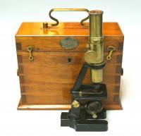 Микроскоп Разумов и Шиллер до 1917 года.