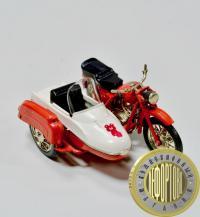 модель мотоцикла ИЖ-Ю-2к, период СССР Олимпийский мишка.