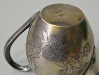 молочник серебро 84 проба 1895 год.